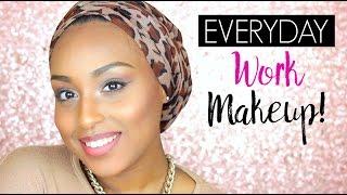 getlinkyoutube.com-Everyday WORK Makeup Tutorial | Aysha Abdul
