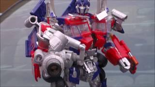 getlinkyoutube.com-Transformers Buster Optimus Prime Autobot Leader DOTM/ROTF Leader Class