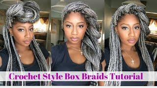 getlinkyoutube.com-Crochet Box Braids Tutorial- Grey Hair