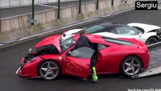 getlinkyoutube.com-Ferrari Crash Compilation - 2015 - HD