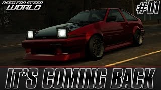 Need For Speed World: IT'S COMING BACK!!   SoapBox Race World Closed Beta [Part 1]
