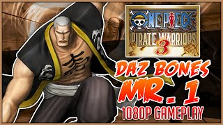 ONE PIECE: Pirate Warriors 3 | Daz Bones Mr.1 Gameplay「ワンピース 海賊無双3」