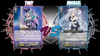 Cardfight! Vanguard: Pentagonal Magus vs Velvet Voice, Raindear Epic Final Turn
