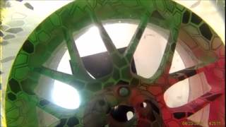 getlinkyoutube.com-Hydrodipping Some Wheels At the Dip Lab (Underwater View)