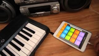 getlinkyoutube.com-iPad AudioBus Drum Pads 24