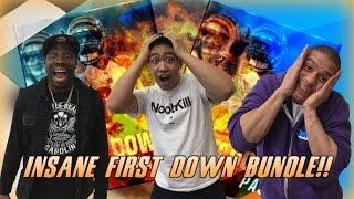 getlinkyoutube.com-INSANE FIRST DOWN BUNDLE!! FT QJB & KRAELO - Madden Mobile 17
