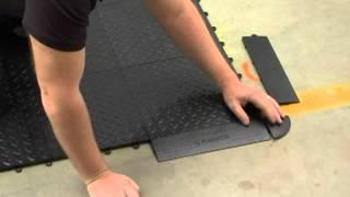 assembly instructions for the gladiator® garageworks tile flooring