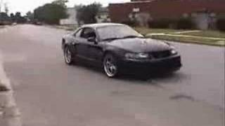 getlinkyoutube.com-Bad ass Mustang Cobra with Kenne Bell Supercharger