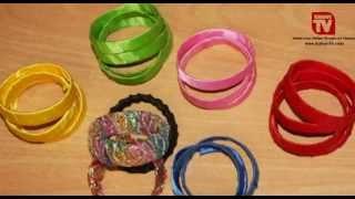 getlinkyoutube.com-TIPS & TRIK I Cara membuat gelang cantik dari Botol Mineral