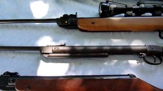 getlinkyoutube.com-My Diana Air Rifle collection, going strong!