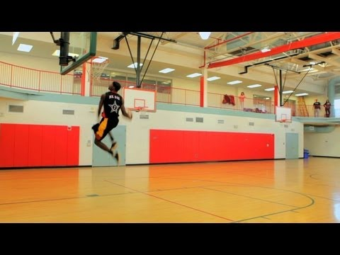 How to Do a 360 Between the Legs Dunk | Basketball