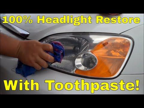 polera strålkastare plast tandkräm