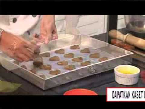 cara membuat choco-nut cookies-info dvd tutorial hub 031-8480822-3