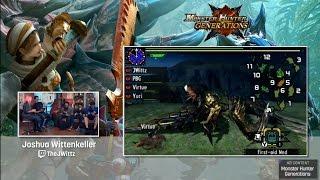 getlinkyoutube.com-Monster Hunter Generations with Seltzer, PBG, TheJWittz and BrotherVirtue
