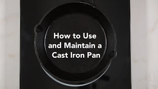 How to Clean and Season a Cast Iron Pan | Yummy Ph