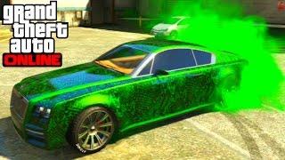 GTA 5 Online - Enus Windsor Full Customization Paint Job Guide