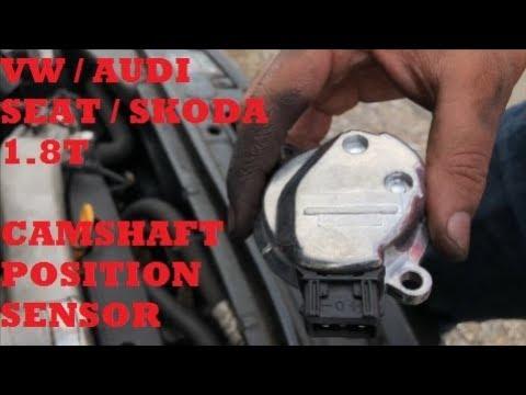 1.8T Camshaft Position Sensor Change - VW/Audi/Seat/Skoda