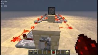 getlinkyoutube.com-Minecraft-피스톤 기차