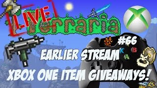 getlinkyoutube.com-Terraria Xbox One Item Dropoff Giveaways - Earlier Stream #66