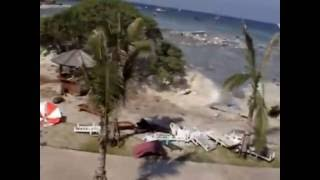 Boxing Day Tsunami in Thailand.....unedited full footage shot at Racha Resort