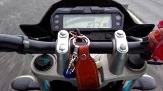 getlinkyoutube.com-Yamaha fz-s v2. 0  Top speed