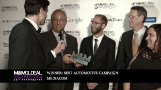 Interview with MediaCom winners of Best Automotive Campaign