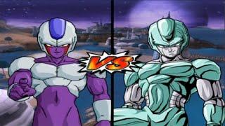 getlinkyoutube.com-Dragon Ball Z Budokai Tenkaichi 3 - 1 Vs 5 Cooler Vs The Metal Cooler