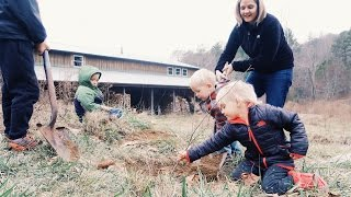 Kids Plant A Tree For A Lost Loved One
