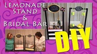 All-Star Designers Summer Series - Lemonade Stand & Bridal Bar