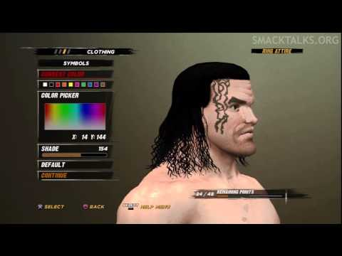 WWE '12 The Great Khali CAW Formula by Ssnake76