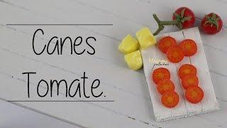 getlinkyoutube.com-Cane Tomate / Tomato Cane (Tuto Fimo / polymer clay)