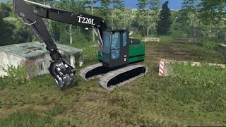 getlinkyoutube.com-LS 15 Modvorstellung - FDR T220L Grapple Loader