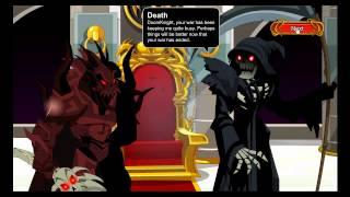 getlinkyoutube.com-AQW Zombies 2012 Cutscene's Only. (Alteons Death!)