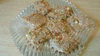 getlinkyoutube.com-Shemai (Sweet Vermicilli) Borfi recipe (Episode 20) - ruptushDiner The Online Bengali Cooking Show
