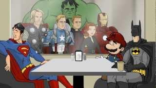 getlinkyoutube.com-All Superhero Café Clips - HISHE