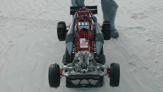 getlinkyoutube.com-HPI Baja - Evil twin 1st run
