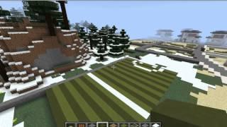 getlinkyoutube.com-minecraft สอนสร้างสนามกีฬา part1