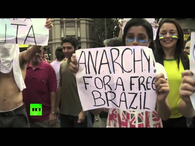 Brazil Bedlam: Largest-in-decades protests sweep country