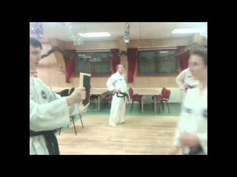 Epic Tae-Kwon-Do Board Break w/ Head