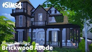 getlinkyoutube.com-The Sims 4 House Building - Brickwood Abode