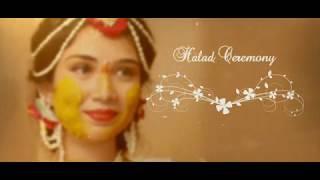 Sayali | Halad Ceremony | width=
