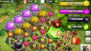 getlinkyoutube.com-CLASH OF CLANS - MOST GEMS! MOST RESOURCES! MOST EVERYTHING!