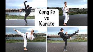 Kung Fu vs Karate | Who Has the Best Kicks?