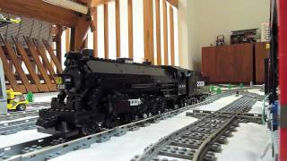 getlinkyoutube.com-Lego Illinois Central 4-8-2 Mountain Type 2350