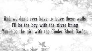 getlinkyoutube.com-All time low - Cinderblock Garden lyrics video
