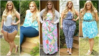 getlinkyoutube.com-Plus-Size Spring Lookbook | 2015