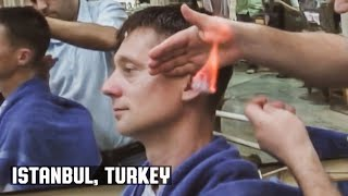 getlinkyoutube.com-The Turkish Barber Haircut (Grand Bazaar Istanbul Turkey)