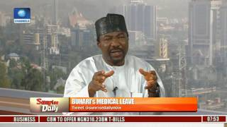 Leave Extension: Buhari Did What Is Right Constitutionally -- Mohammad Yakubu Pt. 2