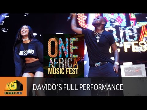 ONE AFRICA MUSIC FEST 2017 | Davido [Full Performance]