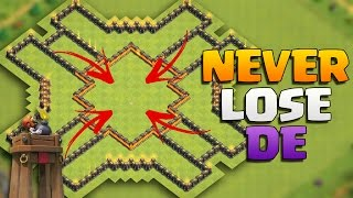 "getlinkyoutube.com-Clash of Clans - NEVER LOSE DARK ELIXIR! HARDCORE TOWN HALL 9 ""TH9"" FARMING BASE with BOMB TOWER!"